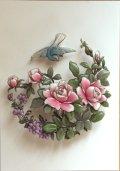 小菊と小鳥 和柄シリーズ