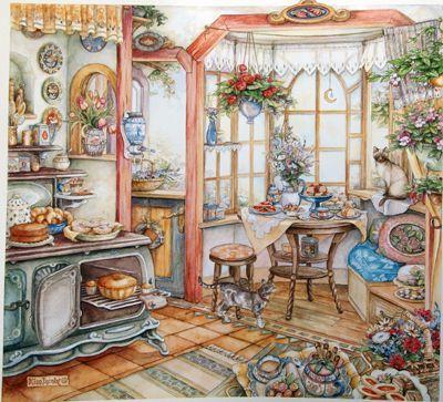 画像1: 小プリントキット キム・ジェイコブス Home Bakery